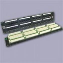 Патч-панели 19 дюймов кат.5Е на 12, 16, 24, 32, 48 портов