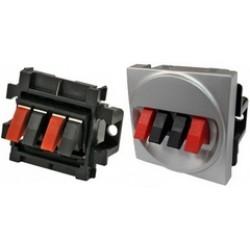 Серия LK45 Аудио-розетки для акустических систем