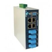 Индустриальные решения - Коммутаторы на DIN рейку PoE Fast Ethernet (1)
