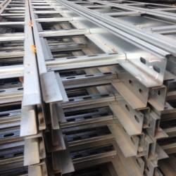 Лестничный лоток нержавеющая сталь
