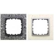 Рамки из декоративного камня, натурального алюминия, светлого/темного стекла LK60 (3)