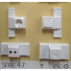 Электроустановочные изделия СЕРИИ 47 EFAPEL