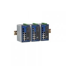 Индустриальные решения - Коммутаторы на DIN рейку PoE Gigabit Ethernet Managed