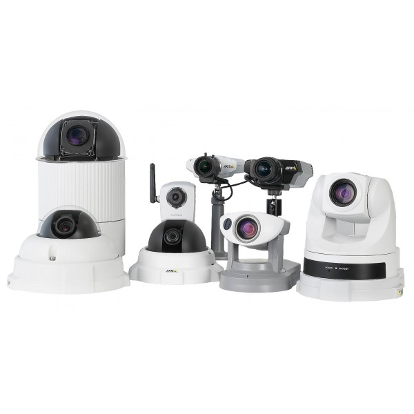 IP WIFI камера AXIS M1033-W SVGA, детектор зв. и дв., PIR AXIS